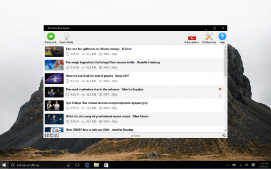 4K Video Downloader 4.13.5 Crack Serial Key