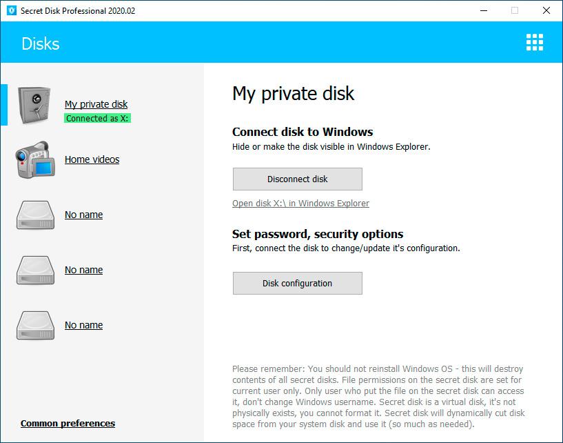 Secret Disk Pro 2020.05 Crack License Key